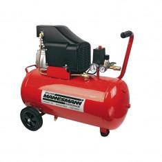 Compresor 1500 W Mannesmann M12975 50 L 8 bari