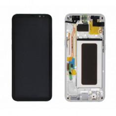 Display cu touchscreen si rama gold samsung galaxy s8+ g955 original
