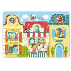 Puzzle - Animale de companie (18 piese)