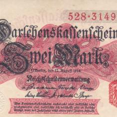 Bancnota Germania 2 Marci 1914 - P53 UNC