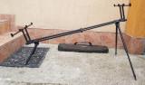 Rod pod FL Full Metal BLACK EDITION pentru 4 lansete CRAP
