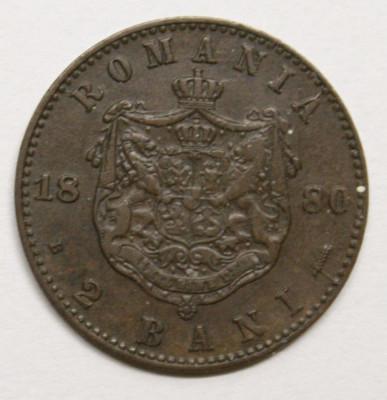 2 BANI 1880 . DETALII FRUMOASE . ERORI DE BATERE . foto
