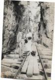 B1999 Defileul Bistritei 1937 cale ferata interbelic