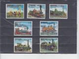 TST - TIMBRE PARAGUAY - LOCOMOTIVE - CN1, Transporturi, Nestampilat