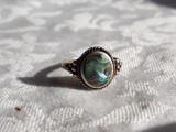 INEL argint SCOICA ABALONE finut VECHI delicat SPLENDID de efect SUPERB vintage