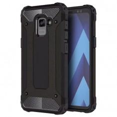 Husa Samsung Galaxy A8 2018 - Hybrid Armor Black