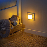 Lampa de veghe 2 in 1 cu led Reer gri