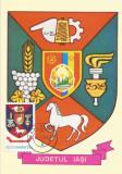 România, LP 942/1977, Stemele judeţelor (E-V), (uzuale), c.p. maximă, Iaşi