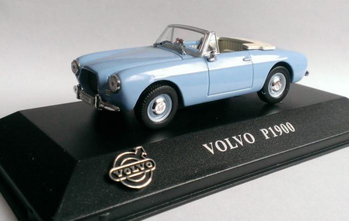 Macheta Volvo P1900 1956 - Atlas 1/43
