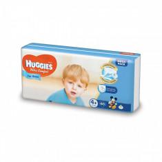 Scutece Huggies Mega Comfort Boys, Nr 4+, 10 - 16 Kg, 60 buc
