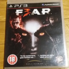 PS3 Fear 3 F.3.A.R. - joc original by WADDER, Shooting, 18+, Multiplayer, 2M Beauty