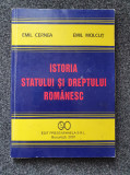 ISTORIA STATULUI SI DREPTULUI ROMANESC - Cernea, Molcut