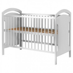 Patut din lemn Copii Hubners Anita 120x60 cm alb
