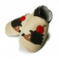 Pantofi cu talpa moale Liliputi Hedgehog Friends