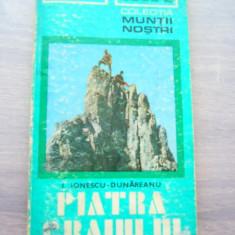 RWX HAR - 1 - COLECTIA MUNTII NOSTRI - NR 9 - PIATRA CRAIULUI - 1975