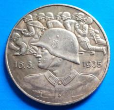 1935 Adolf Hitler Wehrmacht Soldat 40mm foto