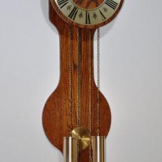 Ceas de perete cu pendula si 2 greutati SBS Feintechink