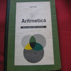 Eugen Rusu - Aritmetica pentru liceele pedagogice