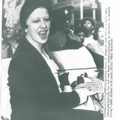 5267 - Magda LUPESCU sotia Regelui CAROL II - PRESS Photo (21/17 cm) unused 1953
