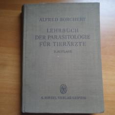 Lehrbuch der parasitologie fur tierarzte – Alfred Borchert