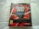 Guitar Hero Van Halen, PS3, original, alte sute de titluri, Simulatoare, 12+, Multiplayer, Activision