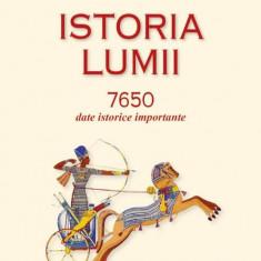 Istoria lumii 7650 date istorice importante