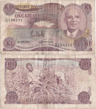 1988 ( 1 IV ) , 1 kwacha ( P-19b ) - Malawi