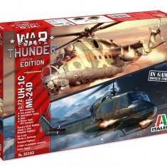 1:72 War Thunder: MIL Mi-24D/UH-1B - Two model kit 1:72