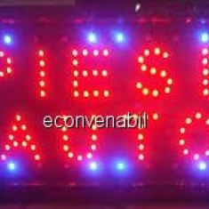 Panou Afisaj Reclama cu LED 50x25cm Piese Auto