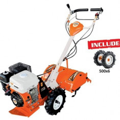 Motosapa RURIS 5800R + roti cauciuc 5.00-6, 7 CP