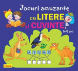 Jocuri amuzante cu litere si cuvinte 6 -8 ani | Diana Rotaru, Teora