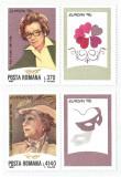 România, LP 1407/1996, Europa '96 - Personalităţi feminine, cu vinietă, MNH