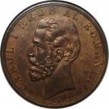 Romania - Medalie 10 mai 1881 Carol I, 37 mm diametru