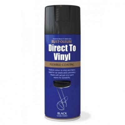 Spray vopsea pentru material textil, piele, vinil, plastic (400ml) foto