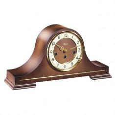 Ceas de birou mecanic Hermle cu melodie Westminster 21092-030340 Nuc 21x43 cm