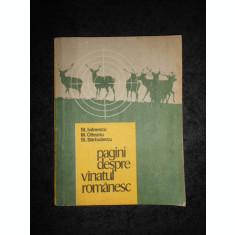 STEFAN IVANESCU - PAGINI DESPRE VANATUL ROMANESC
