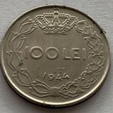 100 Lei 1944 Romania, pavilion ureche neted, Fier