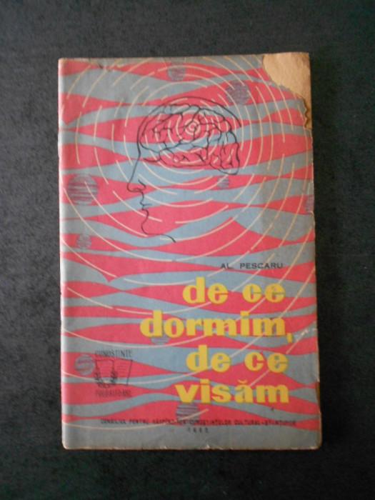 AL. PESCARU - DE CE DORMIM, DE CE VISAM