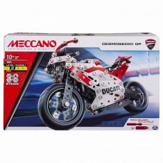 MECCANO DUCATI MOTO GP CU SUSPENSIE, Spin Master