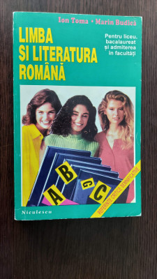 LIMBA SI LITERATURA ROMANA PENTRU LICEU BACALAUREAT FACULTATI TOMA , BUDICA foto