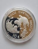 """Moneda de argint - 10 Euro """"Tove Jansson"""", Finlanda 2004, Europa"""