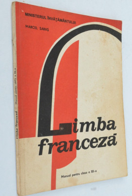 Manual limba franceza- clasa a XII-a 1996 foto