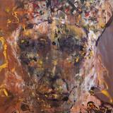 Portret de calator Arta onirica O Kloska, Portrete, Acrilic, Fauvism, General