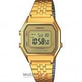 Ceas Casio RETRO LA680WEGA-9ER Gold