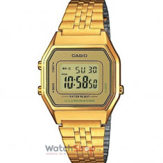 Ceas Casio RETRO LA680WEGA-9ER Gold