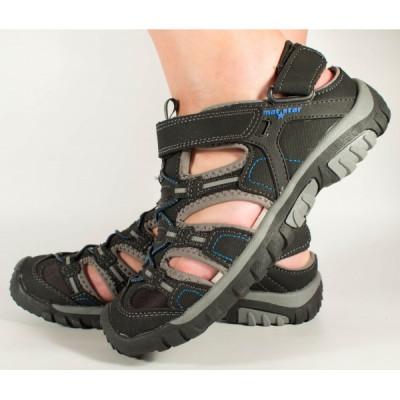 Sandale sport, negre pentru munte, antiderapante 194044 foto