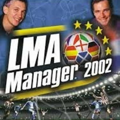 Joc PS2 LMA Manager 2002