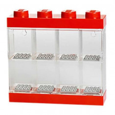 Cutie rosie pentru 8 minifigurine LEGO