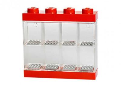 Cutie rosie pentru 8 minifigurine LEGO foto