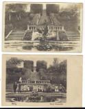 lot trei carti postale Avrig Parcul Brukenthal perioada interbelica